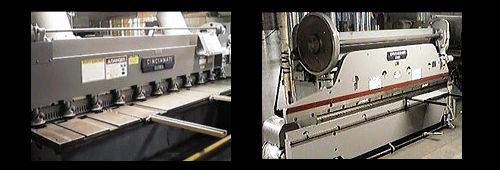 Shop facility Union Air Conditioning Inc Binding and Shearing